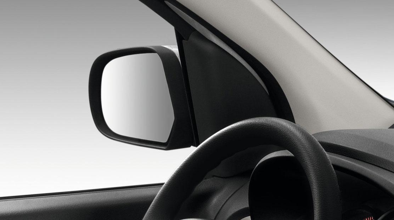 Außenspiegel elektrisch einstell- und beheizbar