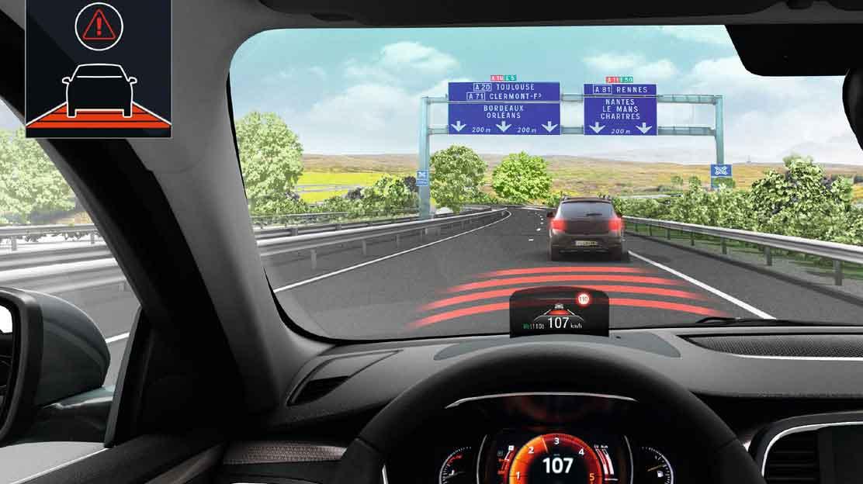 system kontroli bezpiecznej odległości