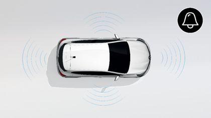 Alarmanlage für Fahrzeuge ohne Vorkonfiguration