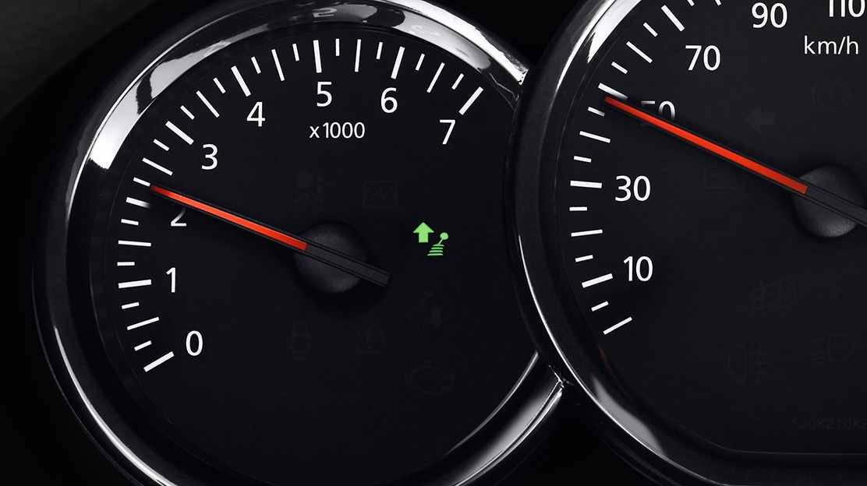 Gear Shift Indicator (GSI = indicator pentru shimbarea treptei de viteza)