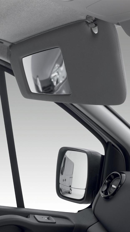 Wide View Mirror