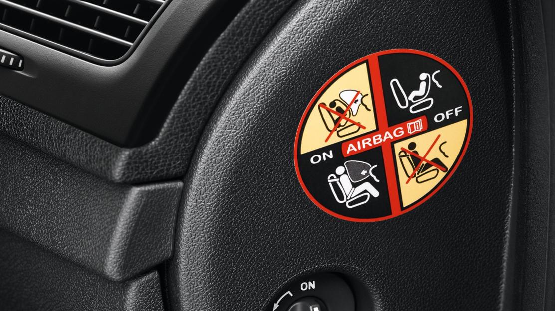 Beifahrer Airbag ausschaltbar