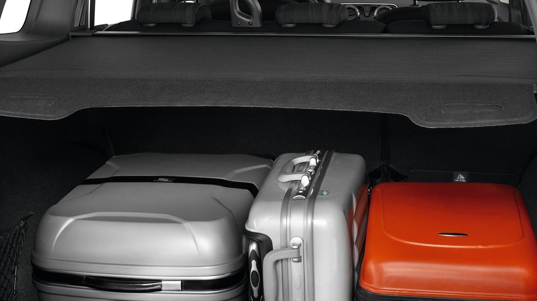 Gepäckraumabdeckung, herausnehmbar (Zwangsoption 7-Sitzer)