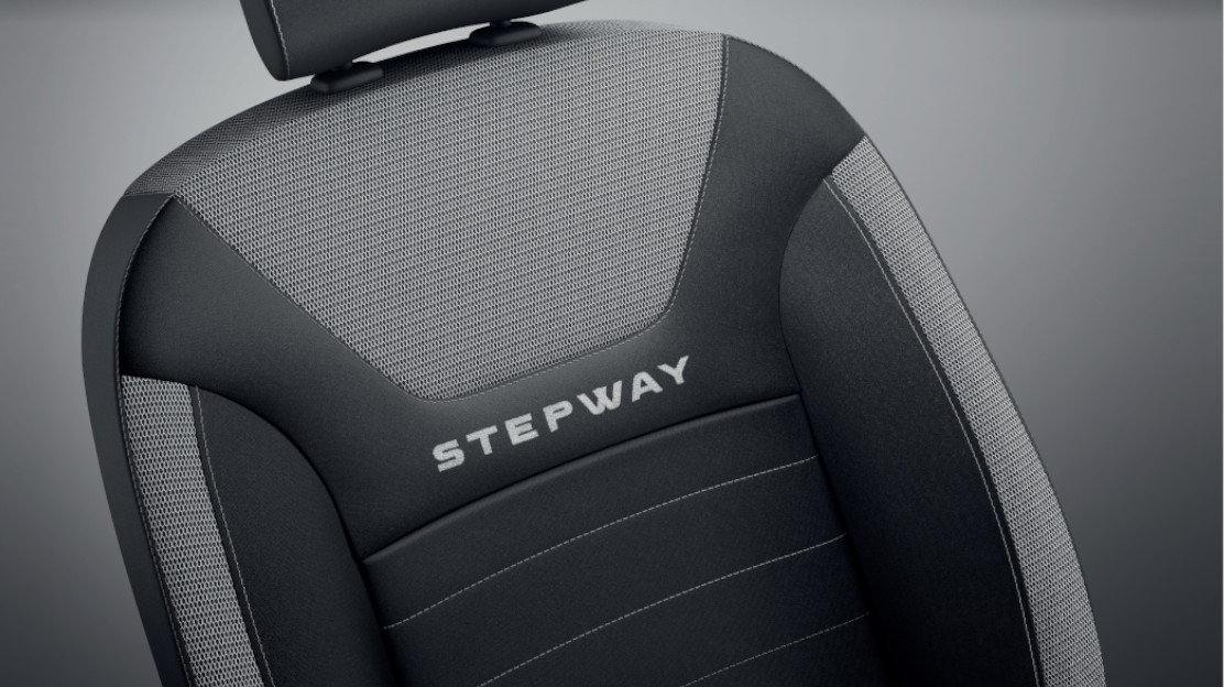 Stepway cloth upholstery