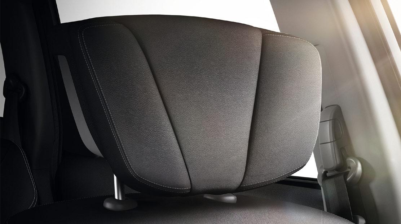 Komfortna naslonjala Relax za glavo voznika in sovoznika