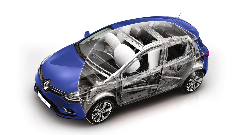 Airbags frontaux conducteur et passagers