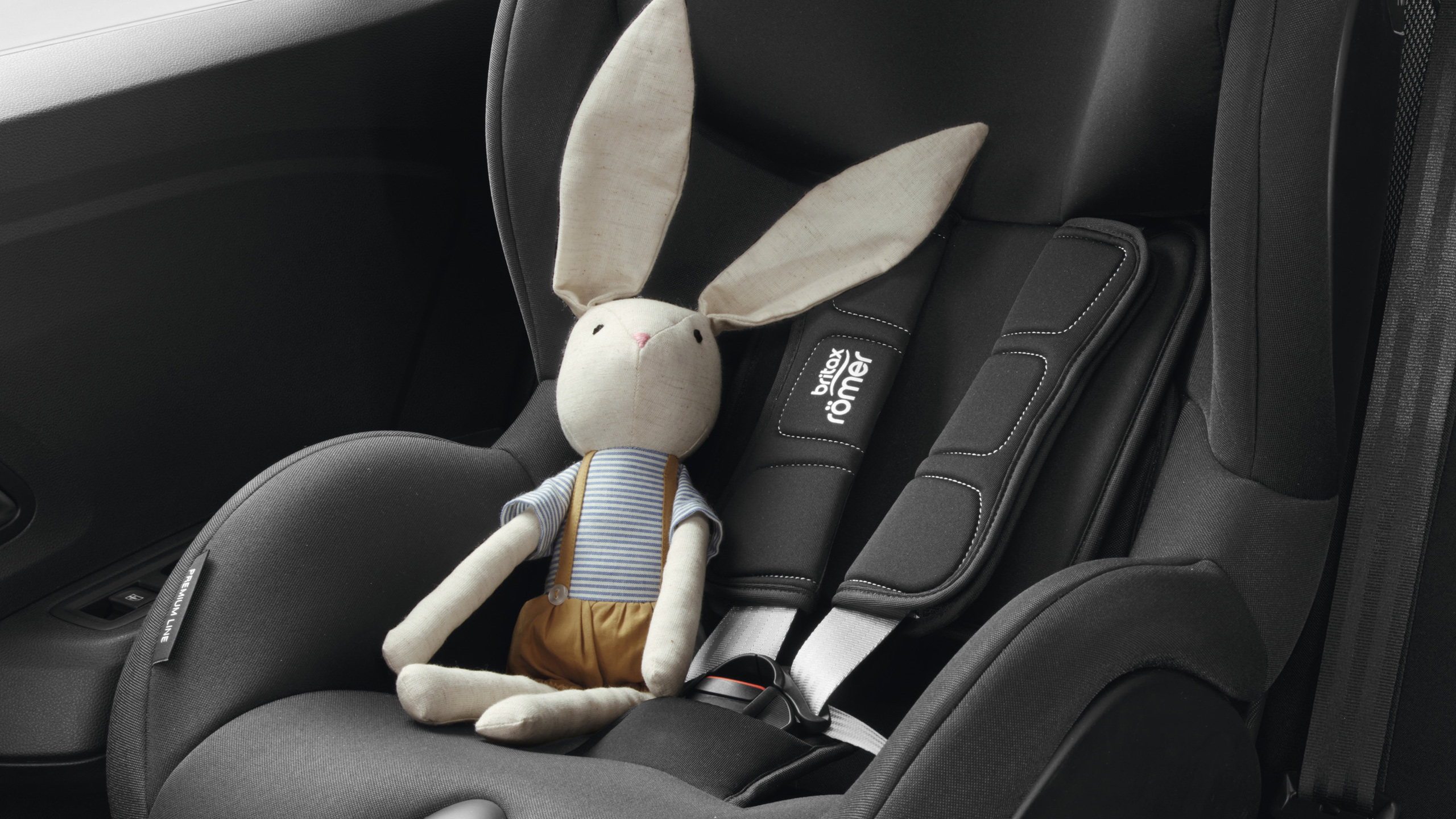 ISOFIX points for left & right seats on 2nd row