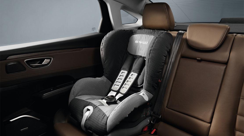 Система за закрепване на детска седалка ISOFIX за двете зади места