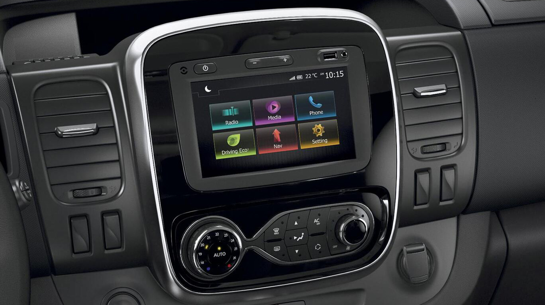 DAB radio with AUX input, Bluetooth®, USB socket & 2x20W speakers