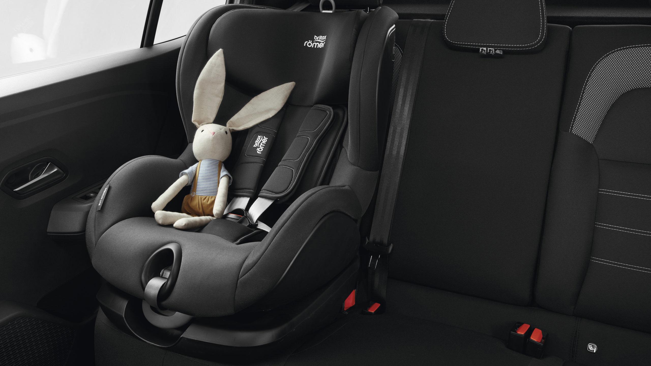 ISOFIX rögzítés a hátsó üléseken