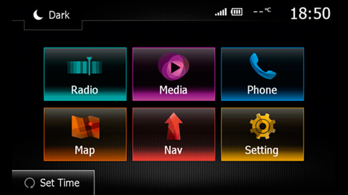 Sistema Media Nav Evolution