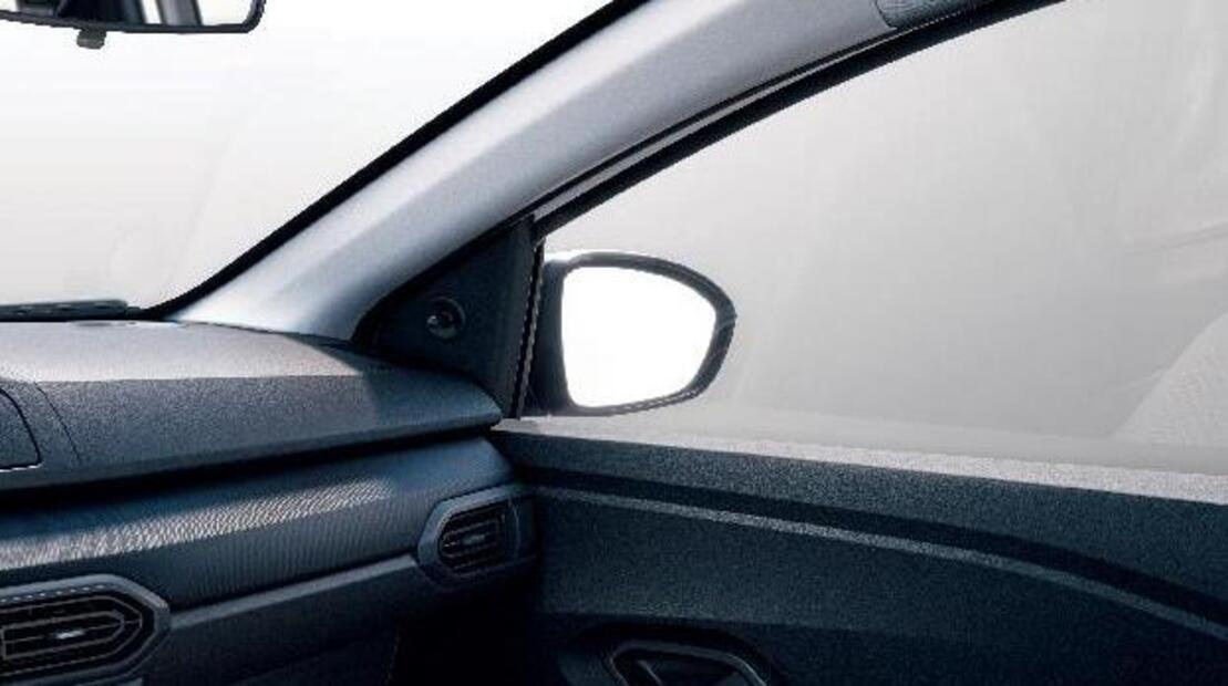 Handmatig verstelbare buitenspiegels