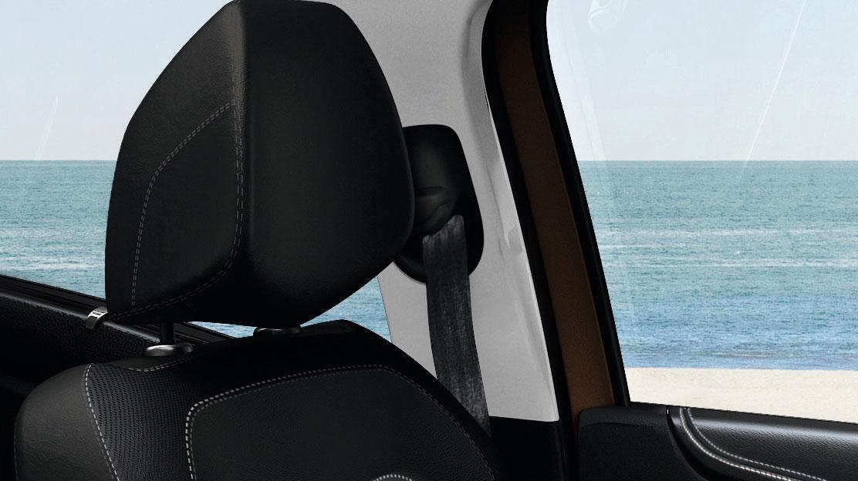 Systém kontroly zapnutí bezpečnostních pásů na všech sedadlech