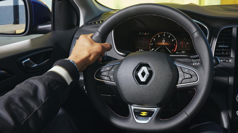 RS Alcantara steering wheel