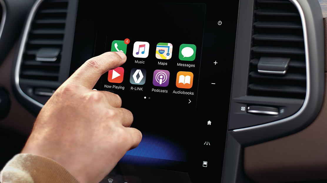 Compatibilité Apple CarPlay et Android Auto