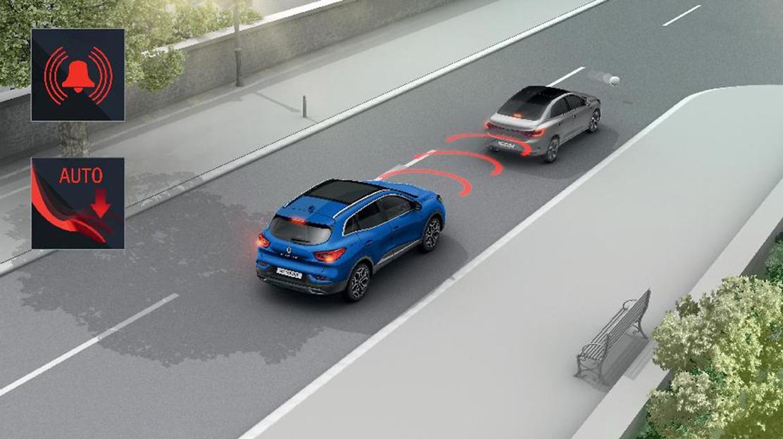 ABS avec assistance au freinage d'urgence et répartiteur électronique de freinage