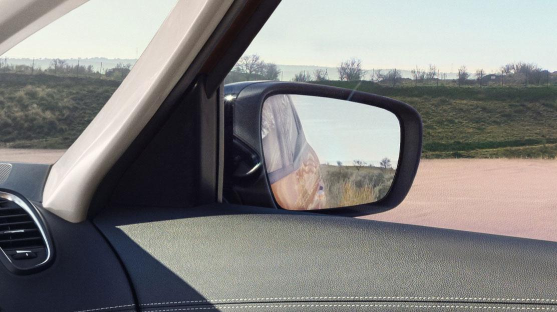 Außenspiegel elektrisch einstellbar und beheizbar (mit Temperatursensor)