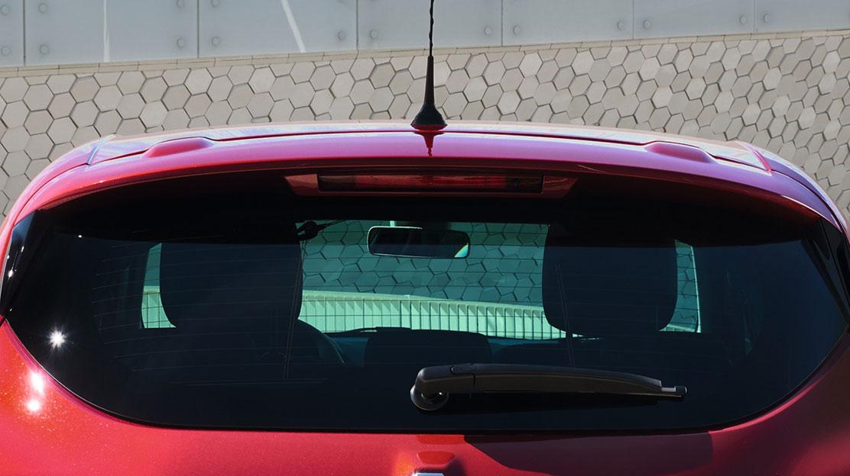 Fűthető hátsó szélvédő