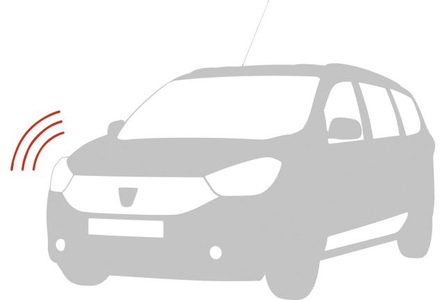 Alarmă pentru vehicul fară telecomanda originală