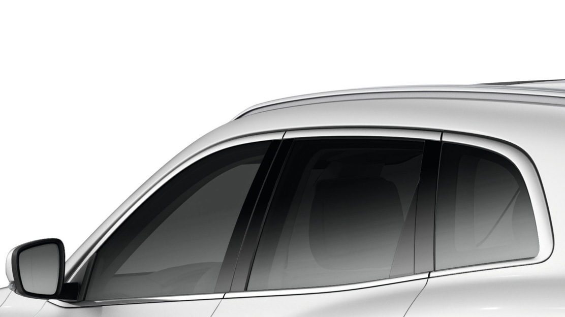 Extra-tinted side & rear windows