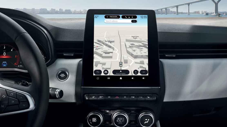 Belux-wegenkaart voor het navigatiesysteem