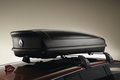 Renault Dachkoffer starr– 480l– mattschwarz
