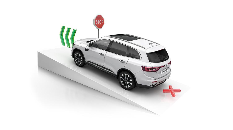 Controlo de trajectória (ESP)+Sistema de ajuda ao arranque em subida (HSA)