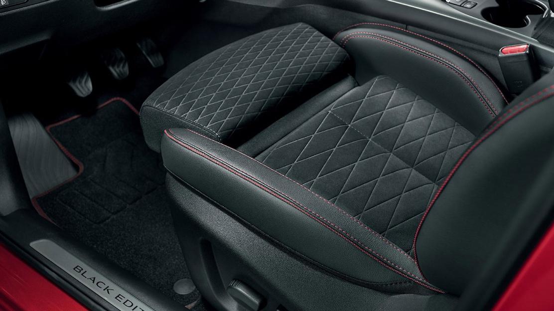 Fahrersitz mit elektrischer 6-Wege Verstellung und Sitzflächenverlängerung