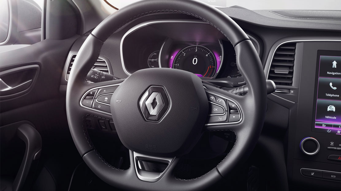 Synthetic leather steering wheel