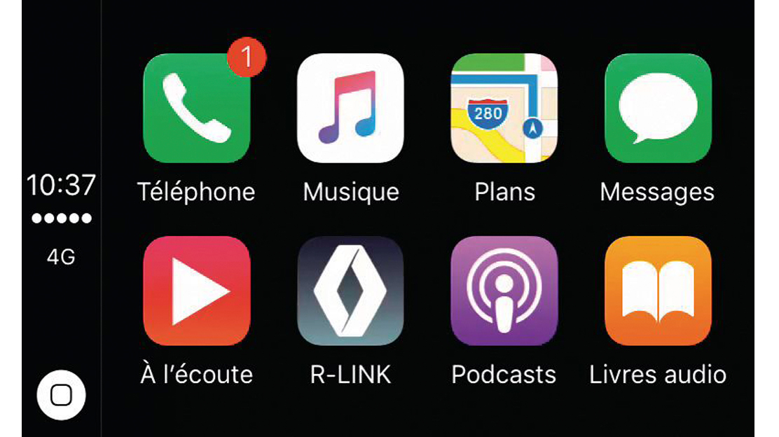 Compatibilidad con Android Auto™ & Apple Carplay™