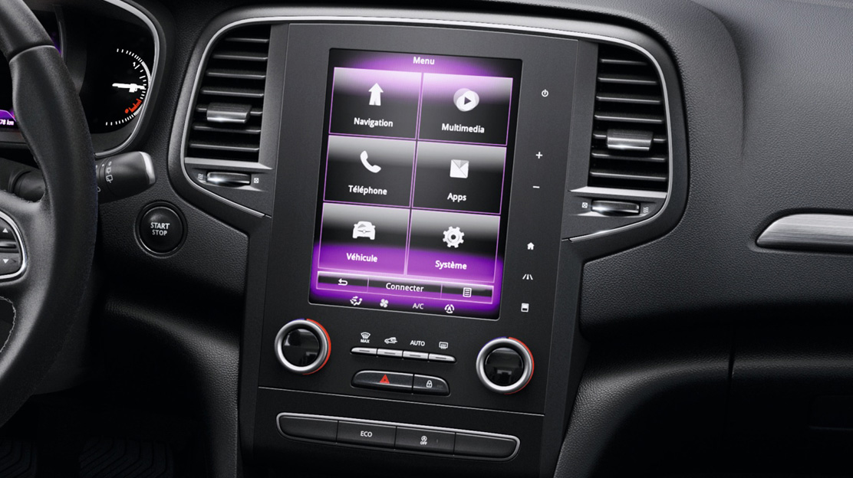 "Radio multimédia avec écran capacitif 8,7"" vertical et navigation TomTom"