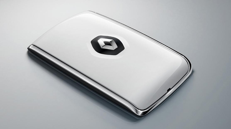 Carte Renault d'entrée et de démarrage mains-libres